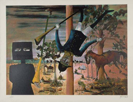 Sidney Nolan - Death of Constable Scanlon 1946