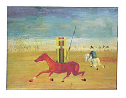 Sidney Nolan - The Chase 1946