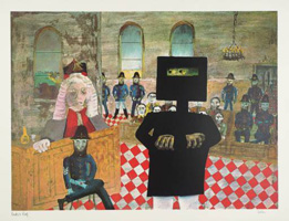 Sidney Nolan - The Trial 1947