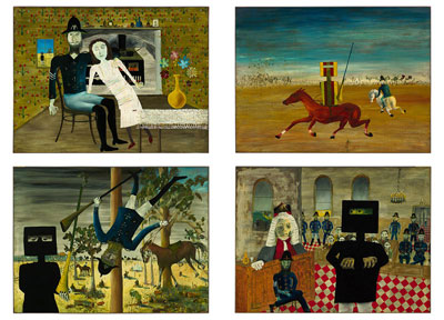 Ned Kelly Series poster print by Sidney Nolan