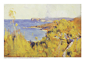 South Head, Port Jackson poster print by Arthur Streeton