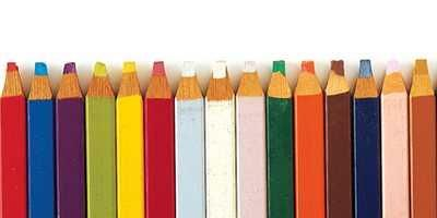 Colored Pencils poster print by Unknown