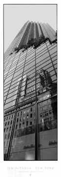 Skyscraper Reflections poster print by Jim Alinder