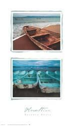 Beached Boats poster print by Tom Haseltine
