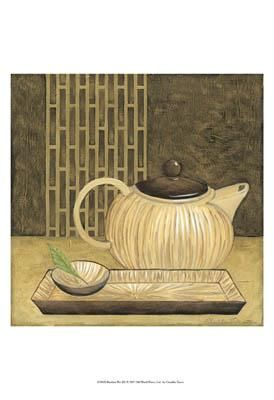 Bamboo Pot poster print by Chariklia Zarris