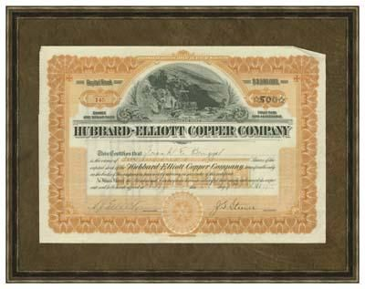 Hubbard Elliot Copper Co poster print by  Vision Studio