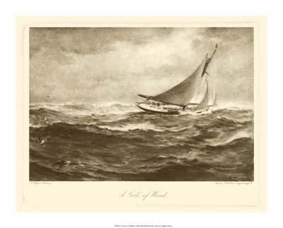 Gale Of Wind poster print by Napier Henry