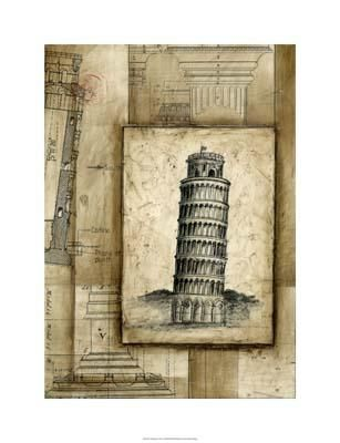 Passport To Pisa poster print by Ethan Harper