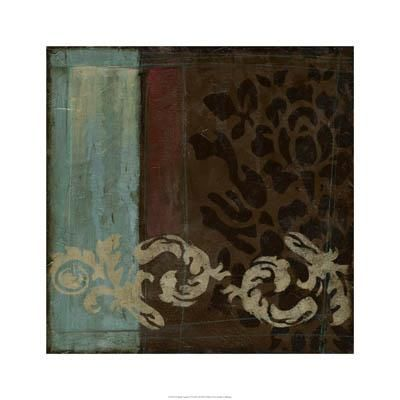 Damask Tapestry II poster print by Jennifer Goldberger