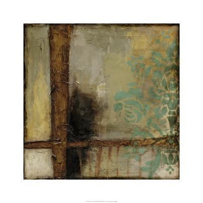 Patina Abstract II poster print by Jennifer Goldberger