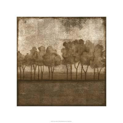 Trees At Dusk I poster print by Nancy Slocum