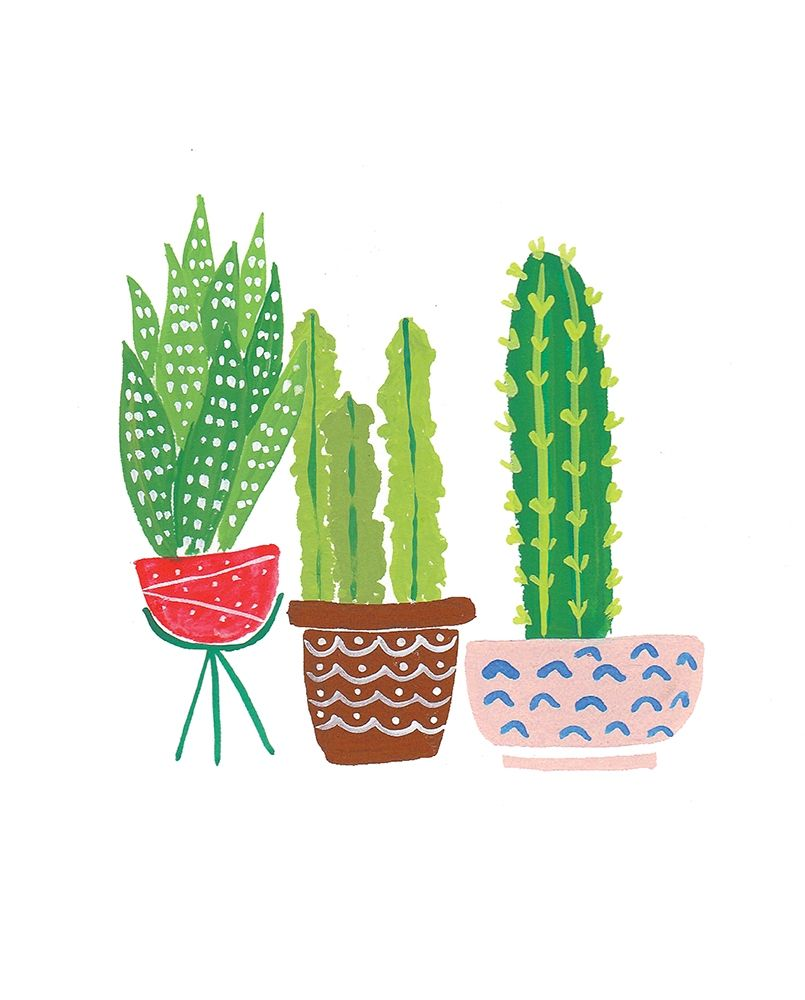 Cactus III poster print by Isabel Serna