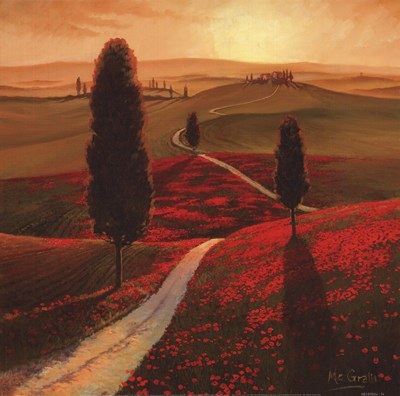 Tuscany poster print by Thomas McGrath
