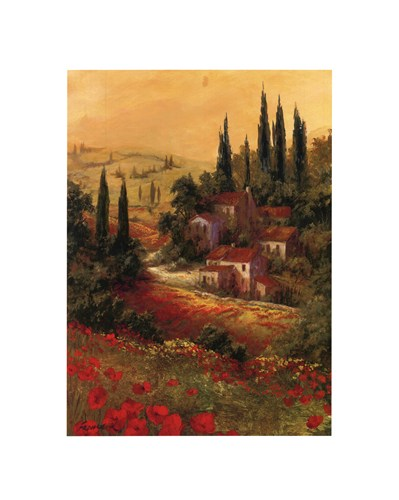 Toscano Valley II poster print by Art Fronckowiak