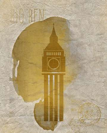A Day in London B poster print by Kimberly Allen
