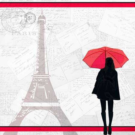 A Night in Paris poster print by Kimberly Allen