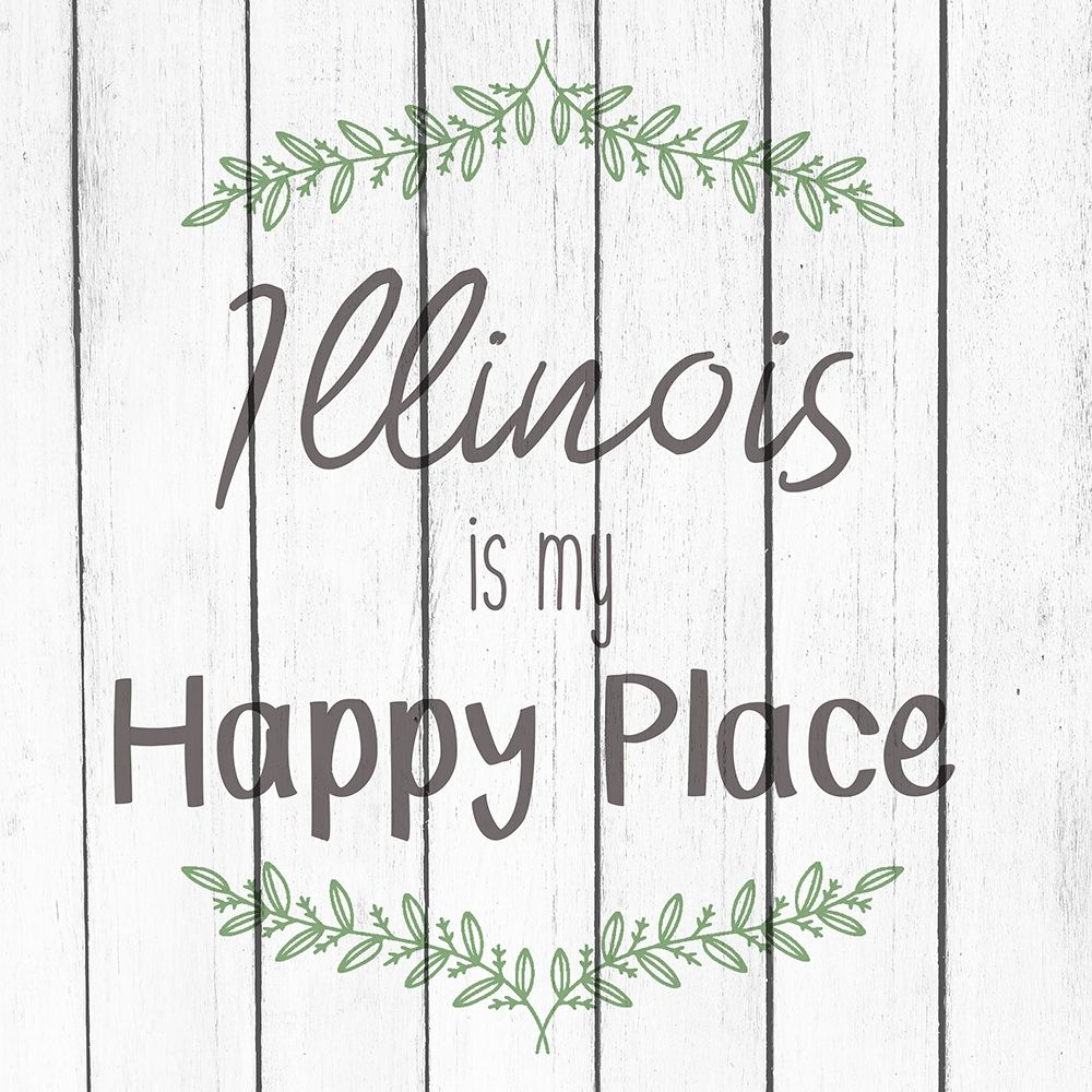 My Happy Place IL poster print by Allen Kimberly