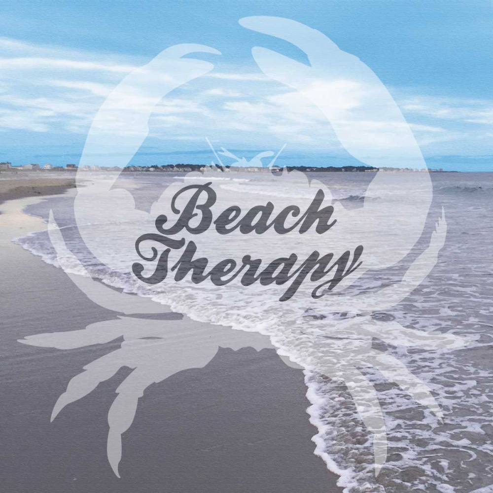 Beach Therapy poster print by Marcus Prime