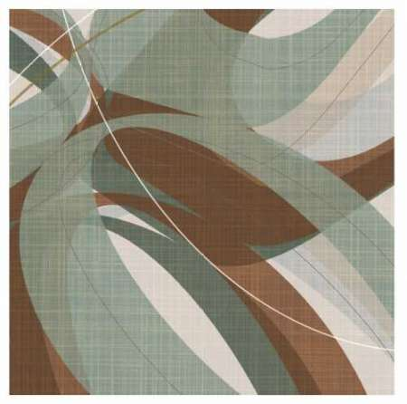 Mint Ripple poster print by  Ahava