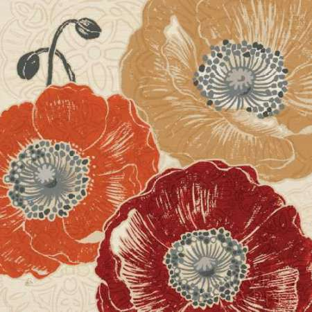 A Poppys Touch III poster print by Daphne Brissonnet