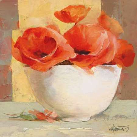 Lovely Poppies I poster print by Willem Haenraets