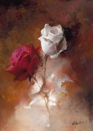 A Couple I poster print by Willem Haenraets