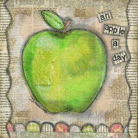 An Apple a Day poster print by Denise Braun