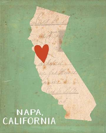 Napa poster print by Katie Doucette