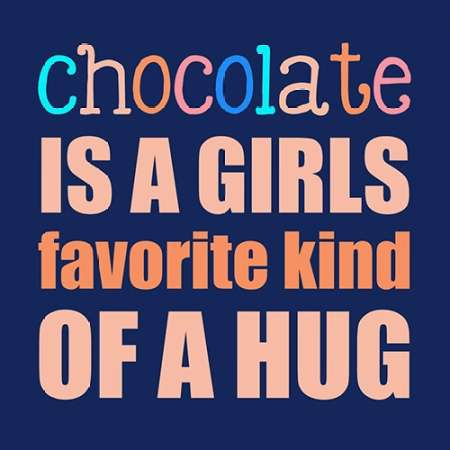 Chocolate poster print by Longfellow Designs