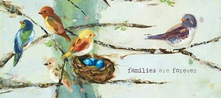 Families Are poster print by Ninalee Irani