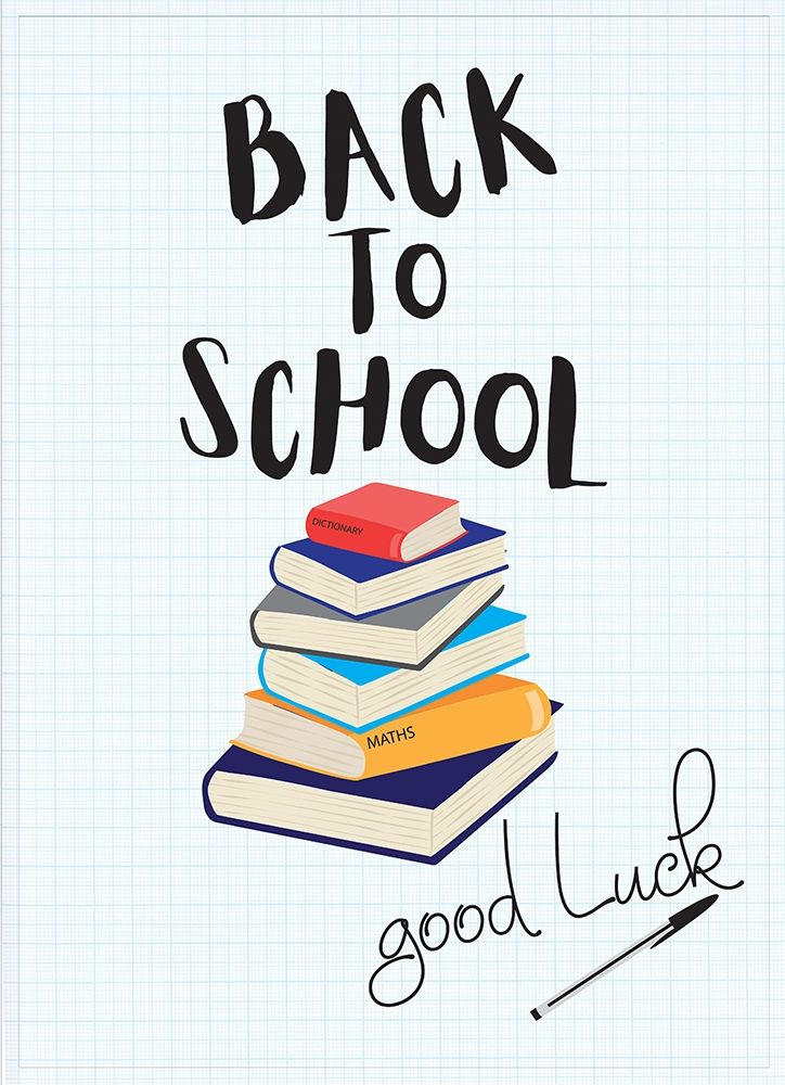 Back to School II poster print by  P.S. Art