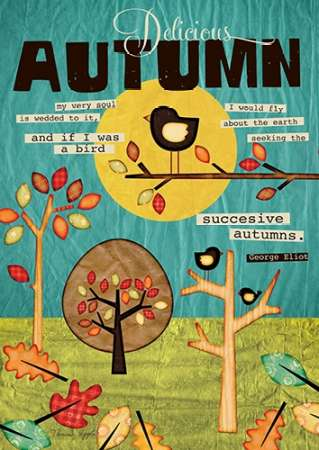 Autumn poster print by Tammy Apple