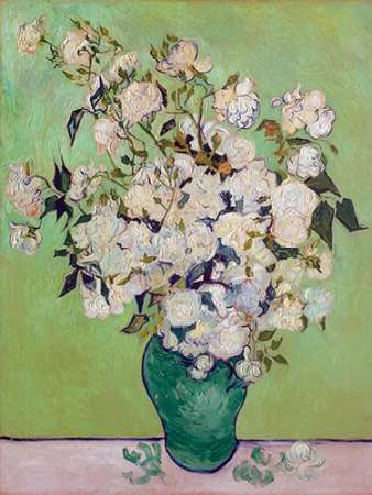 Roses poster print by Vincent van Gogh