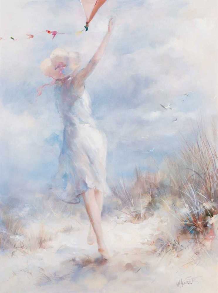 Fly a kite poster print by Willem Haenraets