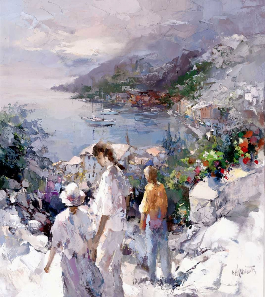An unforgetable view poster print by Willem Haenraets