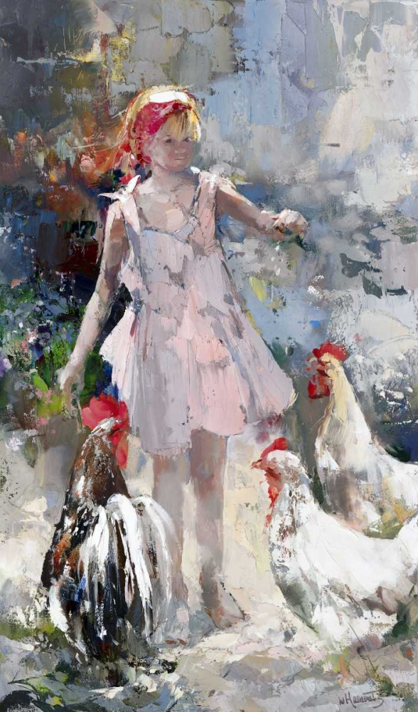Feathered friends poster print by Willem Haenraets