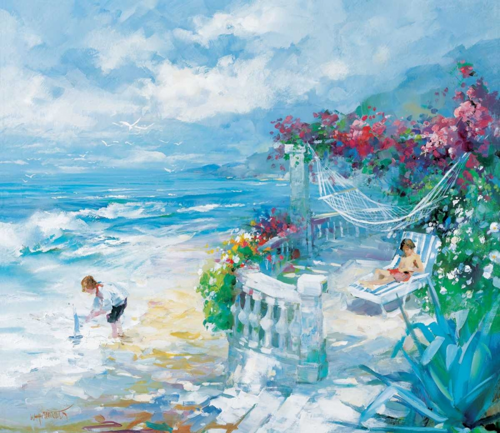 Tranquillity poster print by Willem Haenraets