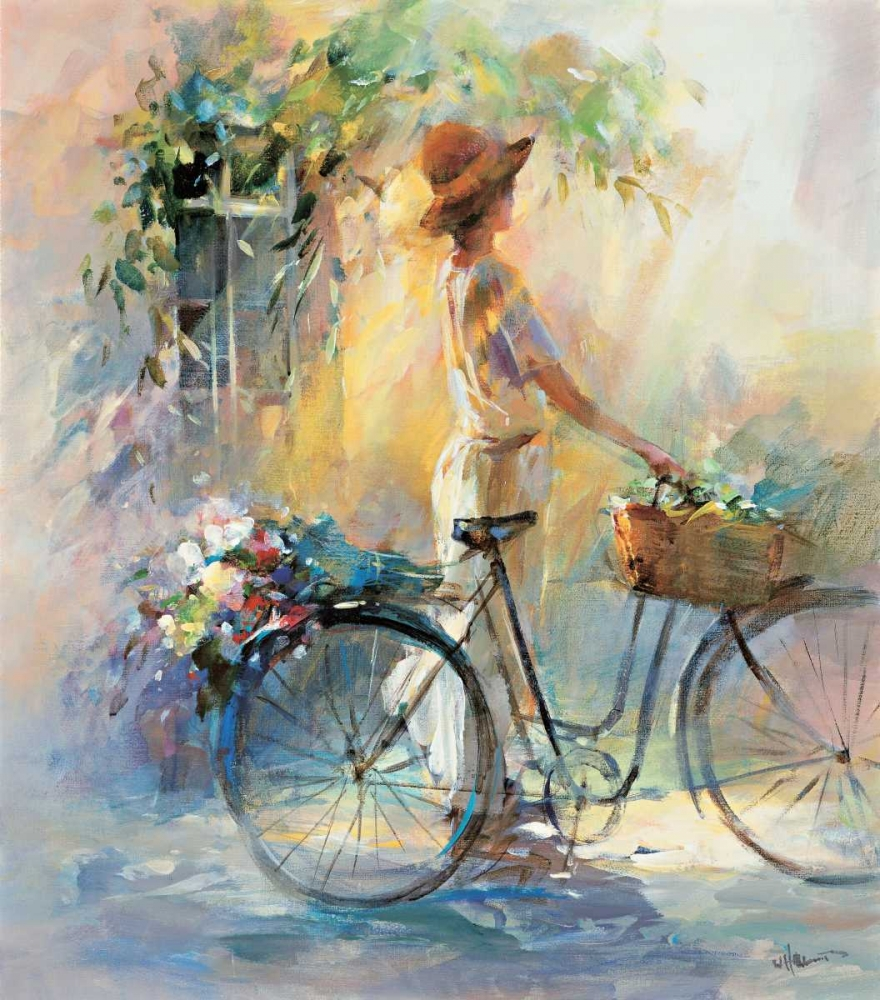 Go for a ride poster print by Willem Haenraets