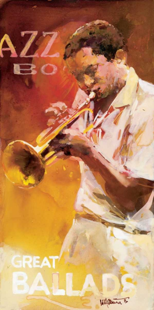 Jazz 1 poster print by Willem Haenraets