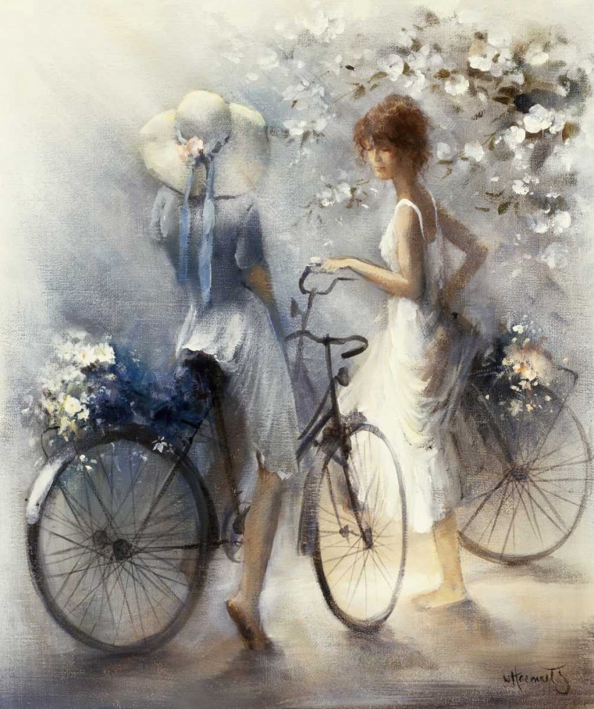 Spring poster print by Willem Haenraets