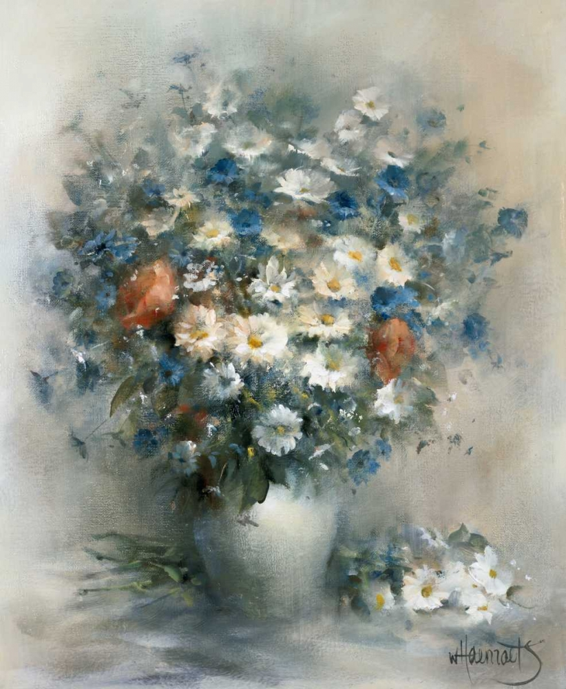Flower bouquet poster print by Willem Haenraets
