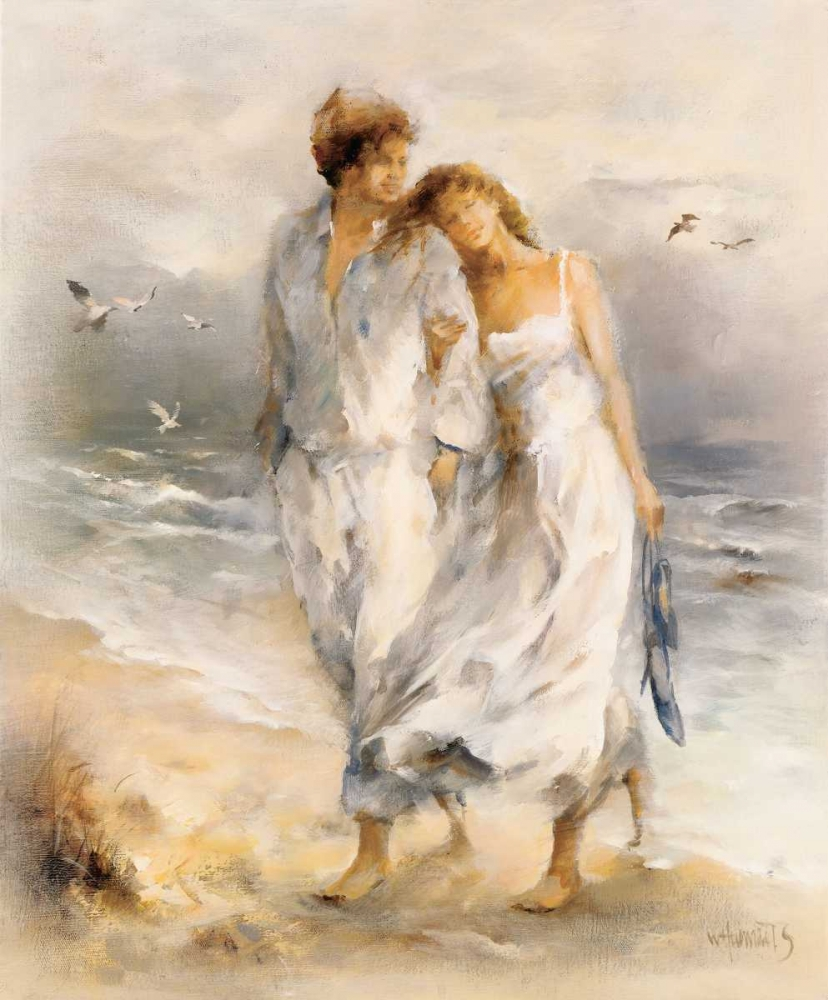 In love poster print by Willem Haenraets