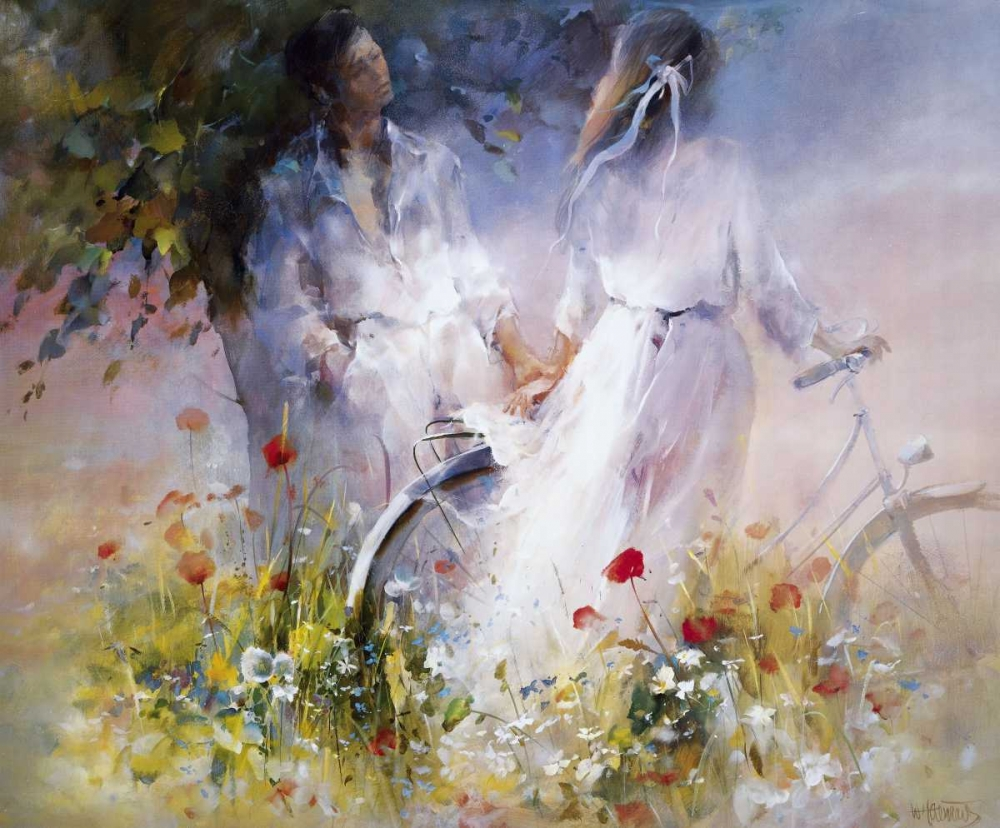 Just the two of us poster print by Willem Haenraets