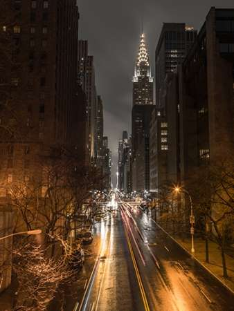 Chrysler Building in New York city poster print by Assaf Frank