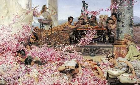 The Roses of Heliogabalus poster print by Sir Lawrence Alma-Tadema
