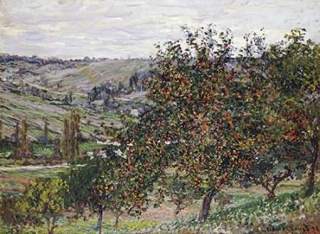 Apple Trees Near Vetheuil, 1878 poster print by Claude Monet