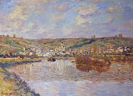 End of the Afternoon, Vetheuil poster print by Claude Monet