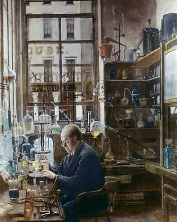 Laboratory of Thos Price poster print by Henry Alexander