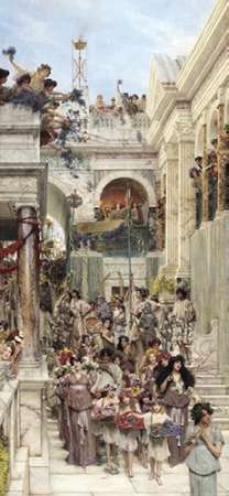 Rites of Spring poster print by Sir Lawrence Alma-Tadema