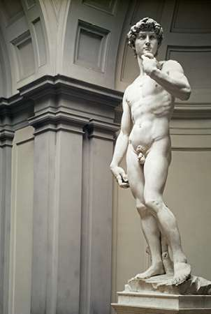 David poster print by  Michelangelo